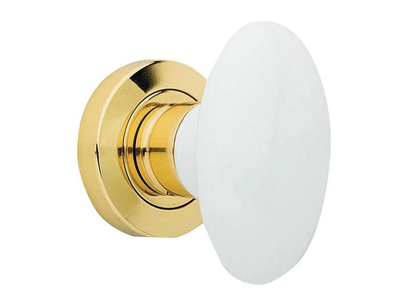 Classic style metal door knob FLAVIA   Door knob by LINEA CALI'