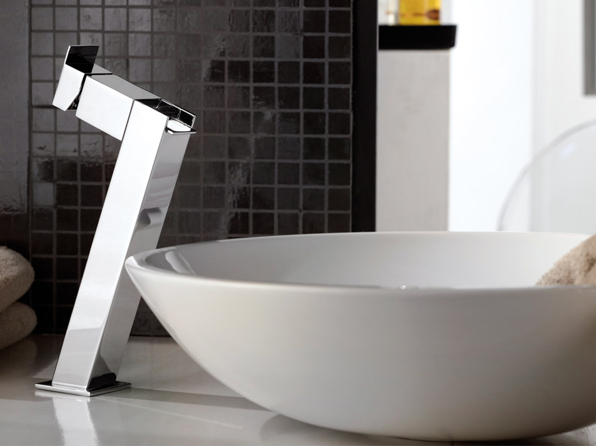 Countertop single handle washbasin mixer FLASH   Washbasin mixer by Remer Rubinetterie