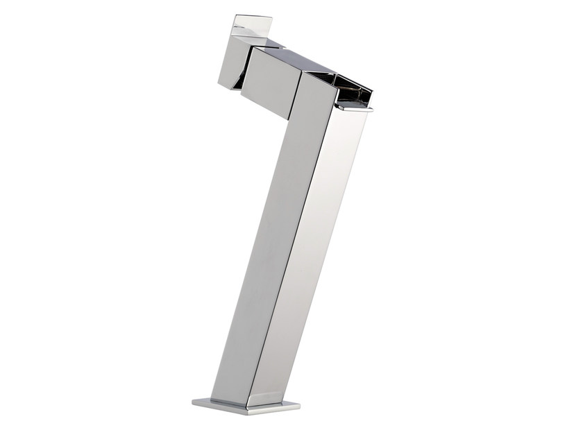 Countertop single handle washbasin mixer without waste FLASH | Miscelatore per lavabo a cascata by Remer Rubinetterie