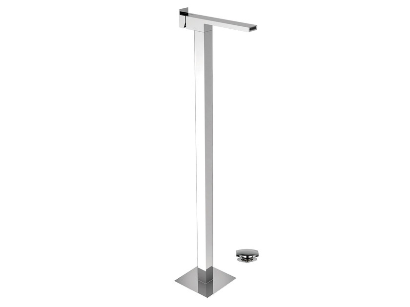 Floor standing single handle washbasin mixer FLASH | Floor standing washbasin mixer by Remer Rubinetterie
