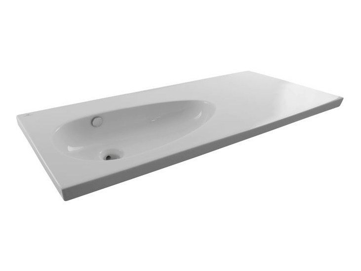 Oval washbasin with overflow HOTELS | Washbasin by NOKEN
