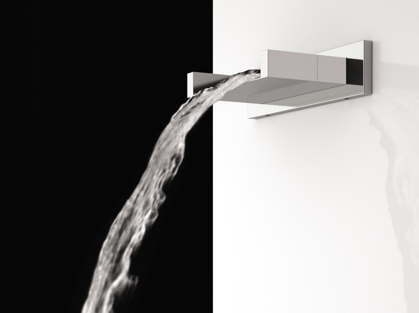 Wall-mounted waterfall spout FLASH | Spout by Remer Rubinetterie