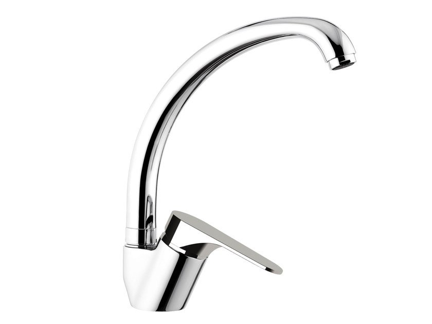 Countertop kitchen mixer tap with swivel spout CLASS LINE | Countertop kitchen mixer tap by Remer Rubinetterie