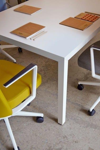 prisma office desk by actiu design isern serra