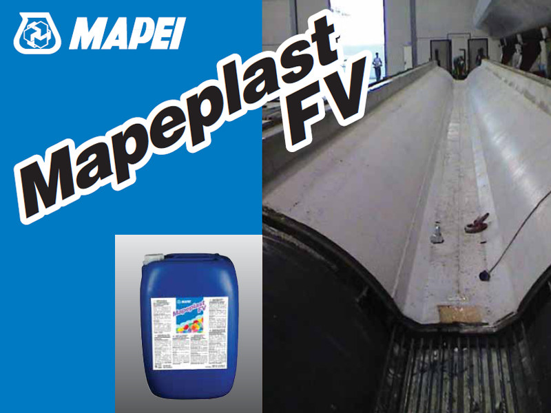 Additive for cement and concrete MAPEPLAST FV by MAPEI