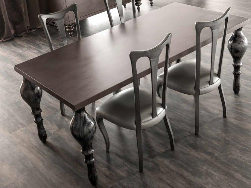 Rectangular oak table ZOE   Oak table by CorteZari