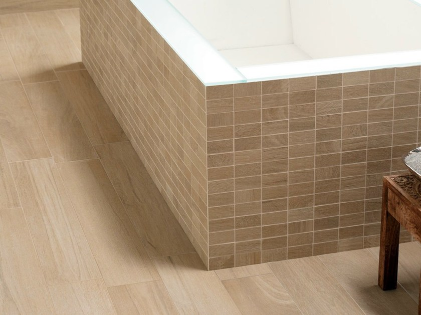 Porcelain stoneware wall/floor tiles with wood effect NOA by NOVOCERAM