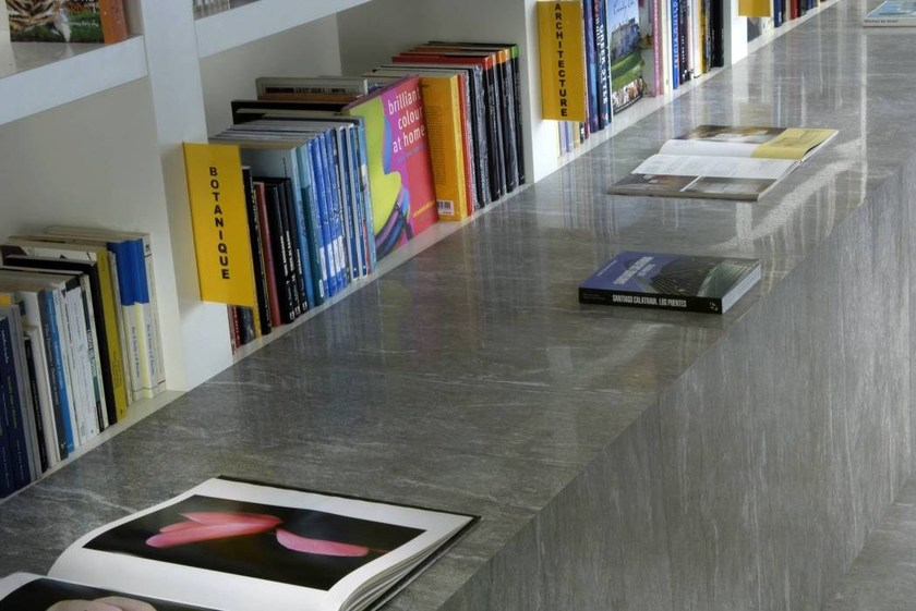 Porcelain stoneware wall/floor tiles with stone effect CAST by NOVOCERAM