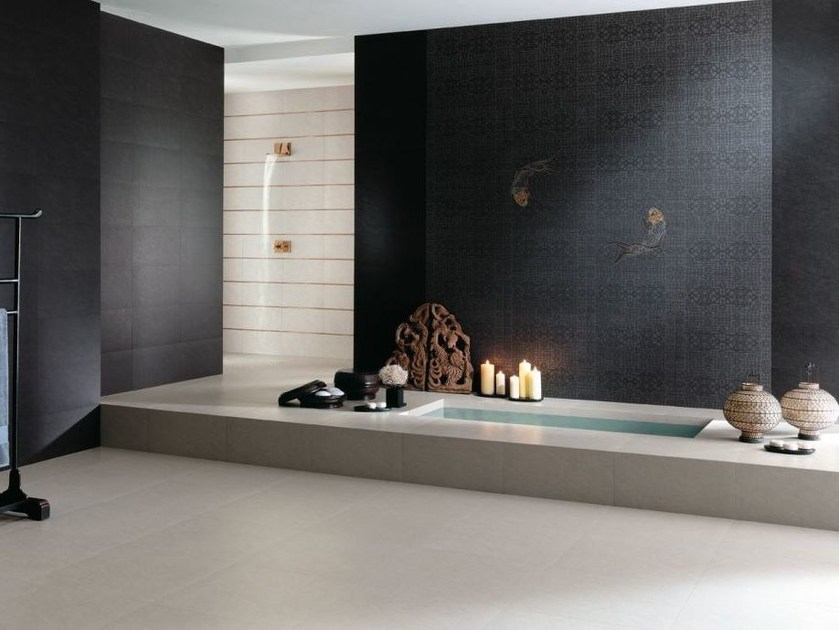 Porcelain stoneware wall/floor tiles with stone effect SAMSARA by NOVOCERAM