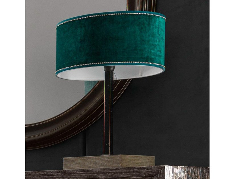 Fabric table lamp KEOPE-ROLL | Table lamp by CorteZari