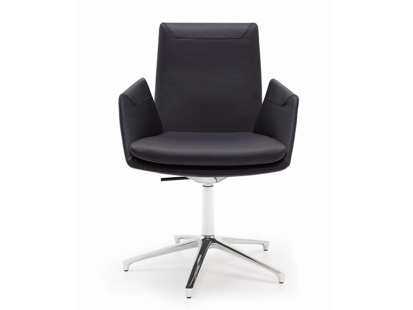 Task chair with 5-Spoke base with armrests CORDIA | Task chair by COR