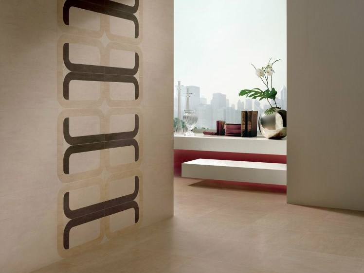Porcelain stoneware wall/floor tiles NO NAME by NOVOCERAM