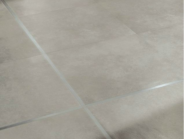 Glazed stoneware wall/floor tiles with concrete effect ESPACE by NOVOCERAM