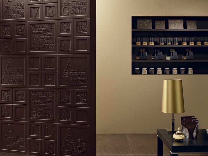 Porcelain stoneware wall tiles CHOCOLATE by Revigrés