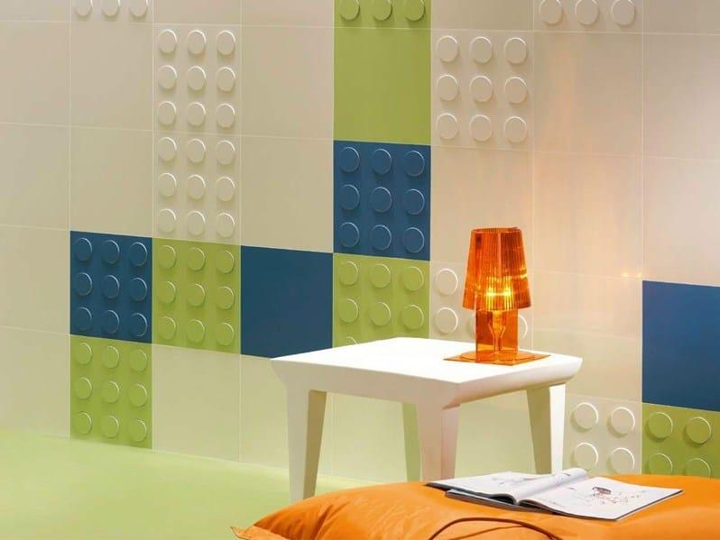 Indoor porcelain stoneware wall tiles TARGET by Revigrés