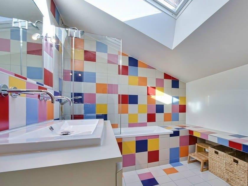 Single-fired ceramic wall tiles IRIDIUM by NOVOCERAM