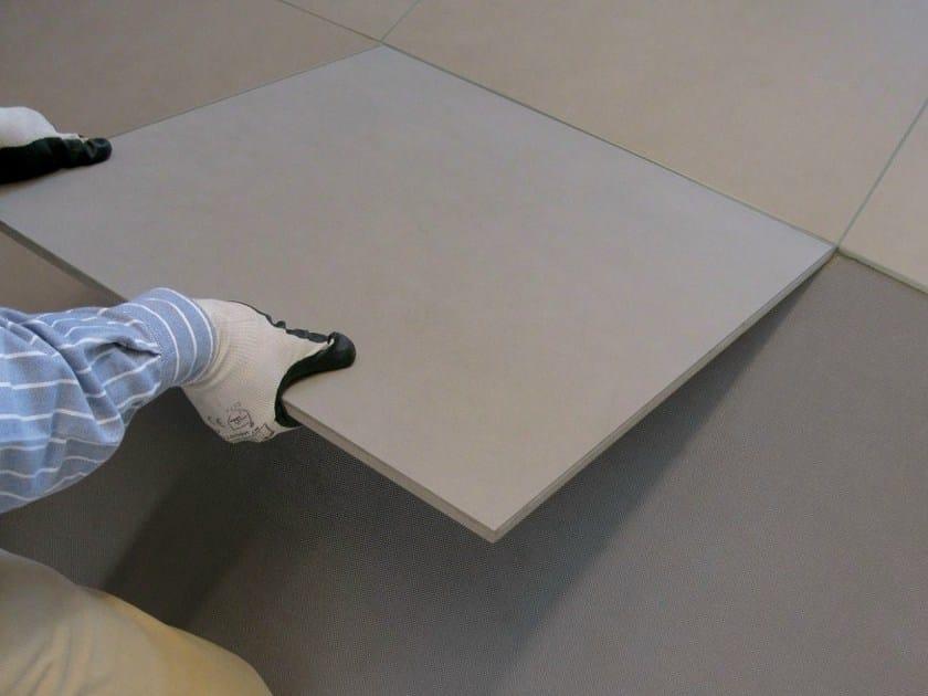 Modular laying system for tiling indoor floors NOVOCERAM INDOOR PLUS by NOVOCERAM
