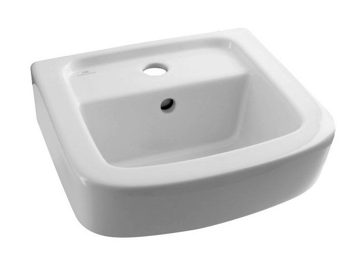 Rectangular single wall-mounted washbasin ACRO | Single washbasin by Noken