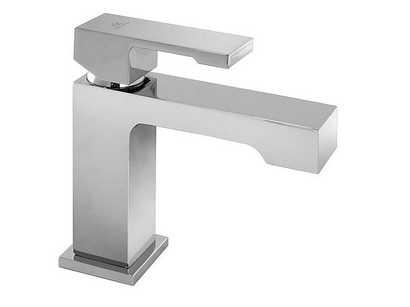 Chrome-plated countertop washbasin mixer with flow limiter NK LOGIC | Washbasin mixer by Noken