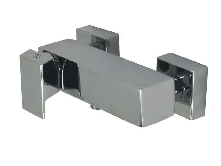 Chrome-plated shower mixer NK ONE | 2 hole shower mixer by Noken