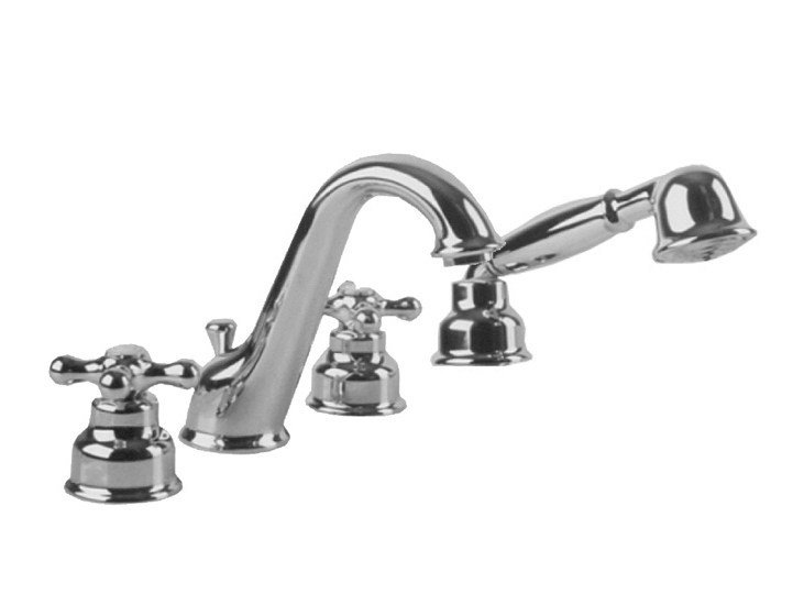 Bathtub set with aerator with diverter FEIS | Bathtub set by NOKEN
