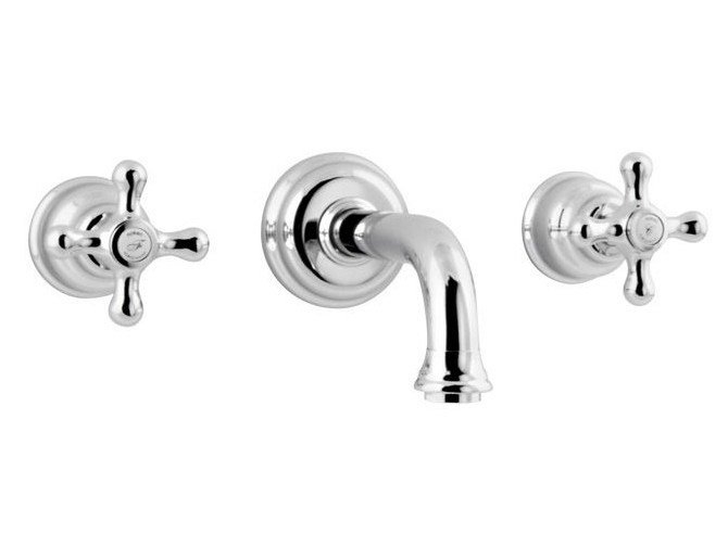 Wall-mounted washbasin tap with aerator FEIS | Wall-mounted washbasin tap by NOKEN