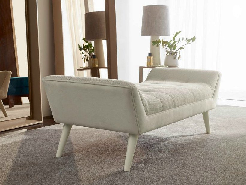 Upholstered fabric day bed ROME | Day bed by VANGUARD CONCEPT