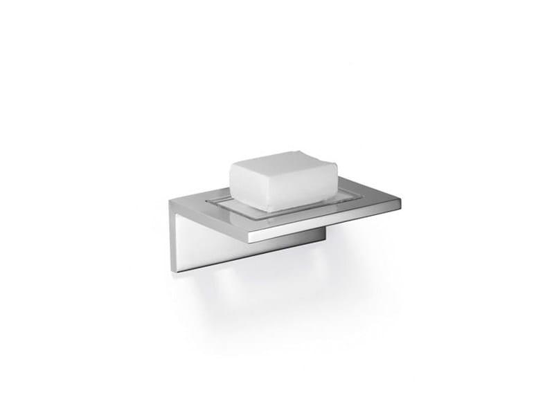 Wall-mounted crystal soap dish SYMETRICS by Dornbracht