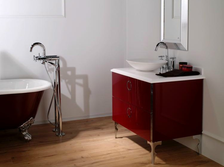 Floor standing bathtub tap FUTURE | Floor standing bathtub tap by NOKEN