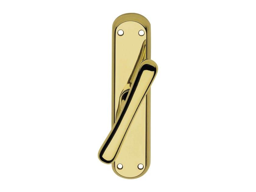 Classic style brass Cremone handle GARDA | Cremone handle by LINEA CALI'