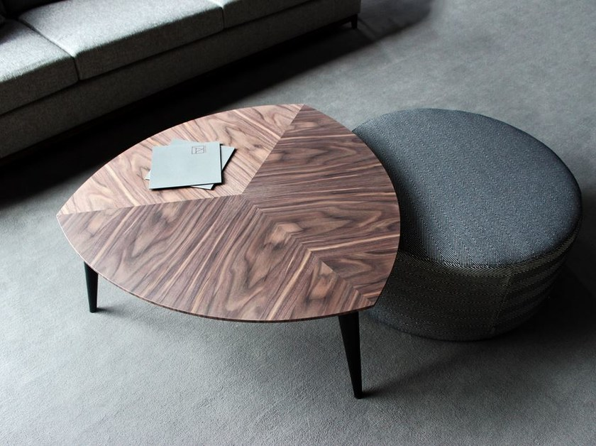 Low wooden coffee table STOCKHOLM | Coffee table by VANGUARD CONCEPT