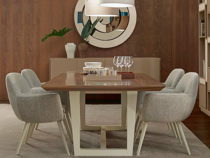 Wooden dining table ROME | Table by VANGUARD CONCEPT