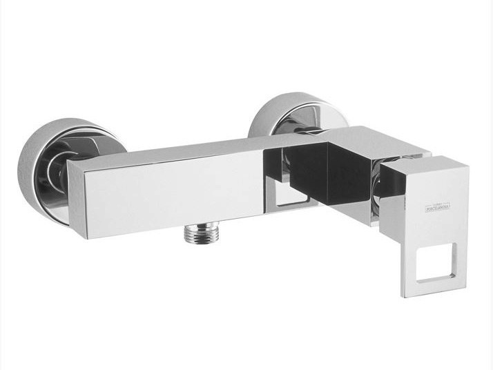 2 hole chrome-plated shower tap IRTA | 2 hole shower mixer by Noken
