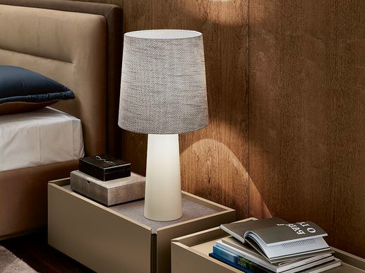 Fabric table lamp BRONX by VANGUARD CONCEPT