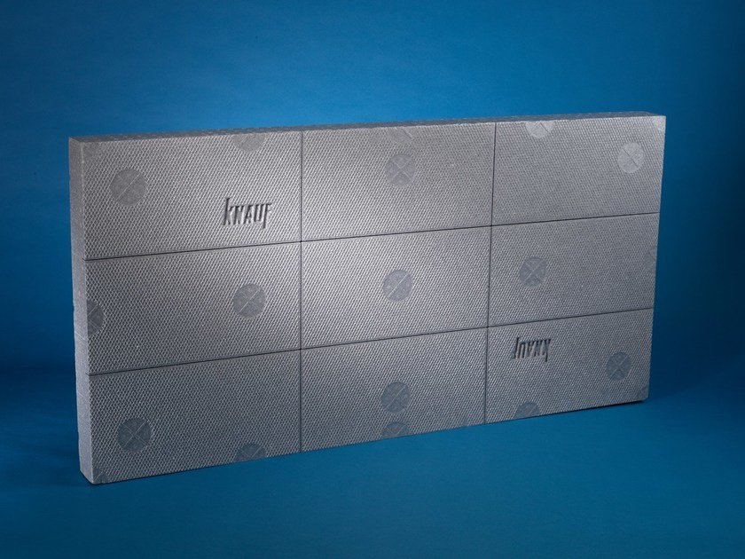 Polystyrene thermal insulation panel KNAUF THERM ETIXX by KNAUF INSULATION - AT