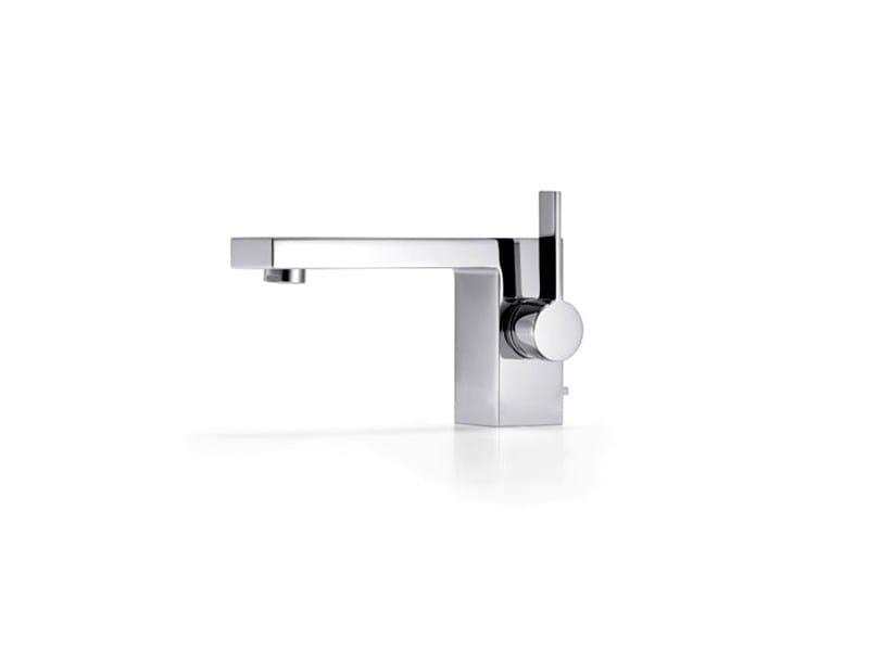 Chrome-plated single handle washbasin mixer SYMETRICS by Dornbracht