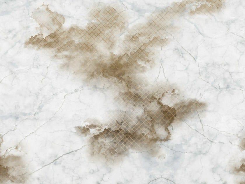 Carta da parati effetto muro per bagno cloudy by wall dec for Carta da parati effetto muro