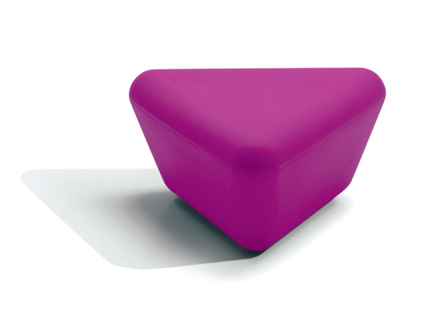 Polyethylene pouf / coffee table PITAGORA by MissoniHome