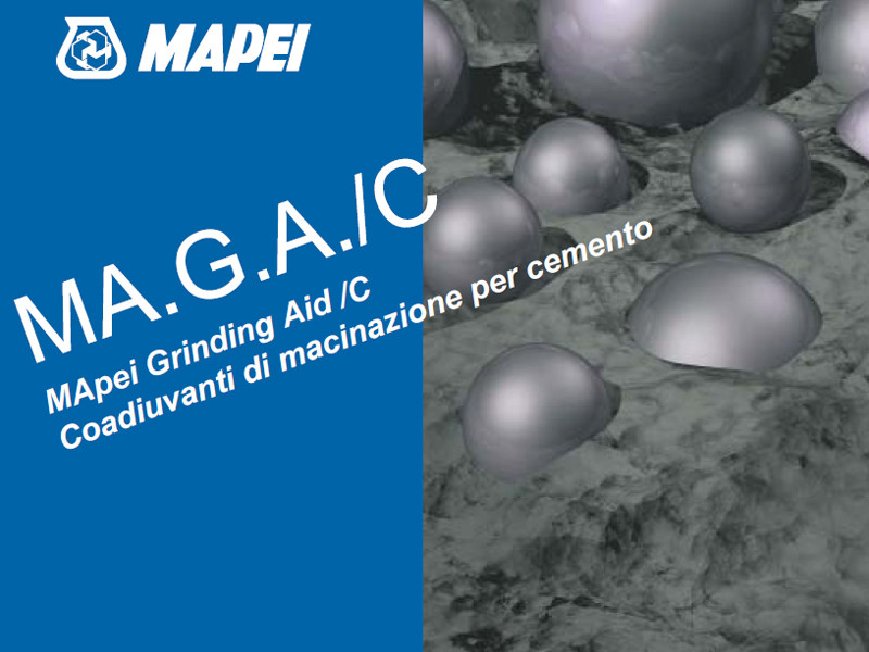 Additive for cement and concrete MA.G.A./C by MAPEI