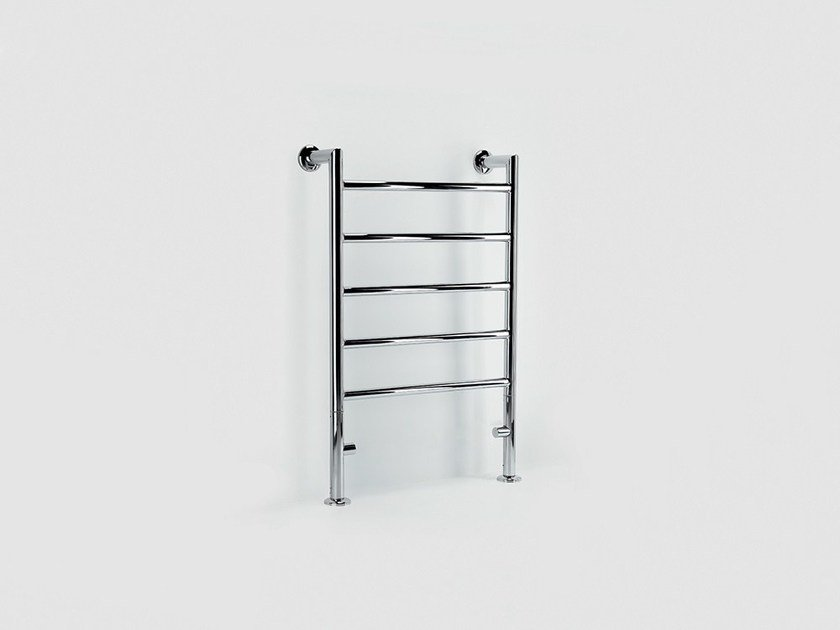 Hot-water metal towel warmer FLOOR REMIND by FOURSTEEL