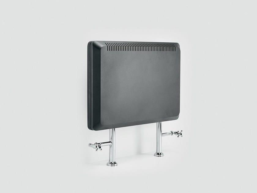 Floor-standing horizontal radiator ROYALTY by FOURSTEEL