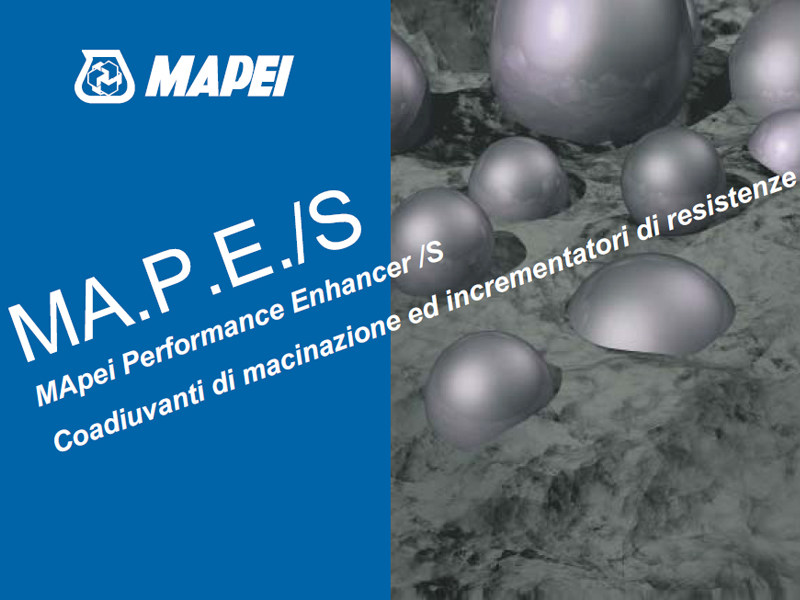 Additive for cement and concrete MA.P.E./S by MAPEI
