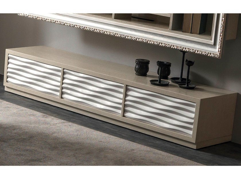 Oak sideboard with drawers EBON | Sideboard with drawers by CorteZari