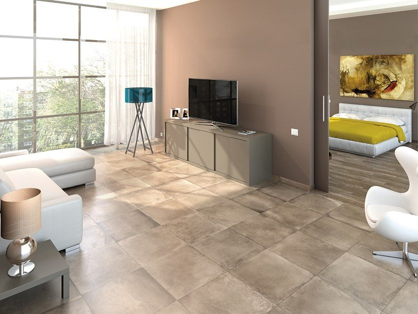 Anti-slip frost proof flooring AMARCORD | Flooring with terracotta effect by Ceramica Rondine