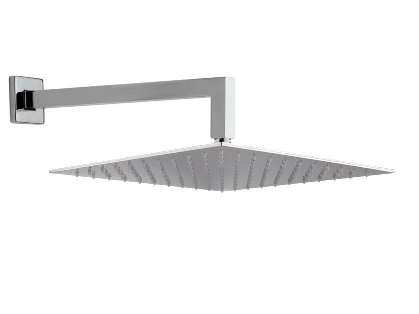 Wall-mounted extra flat overhead shower with arm 15Q-07 | Overhead shower by Rubinetterie Mariani
