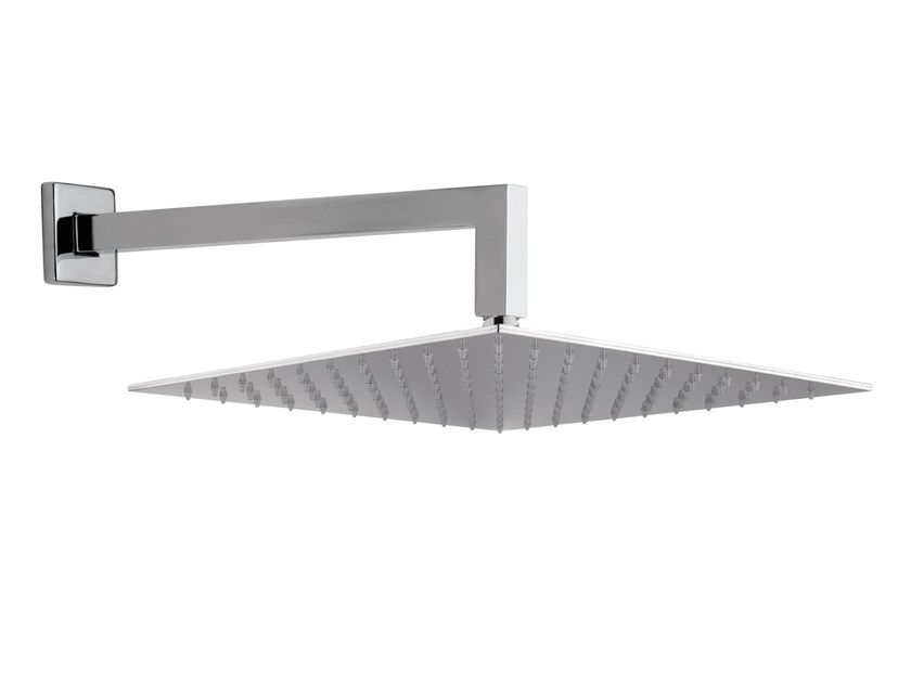 Wall-mounted extra flat overhead shower with arm 15Q-05 | Overhead shower by Rubinetterie Mariani