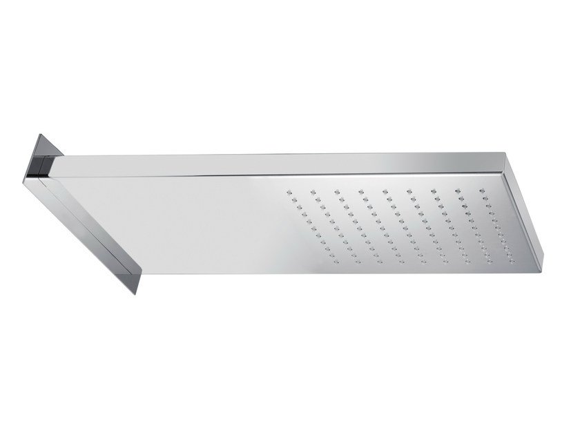 Wall-mounted stainless steel rain shower SR0-02 | Overhead shower by Rubinetterie Mariani
