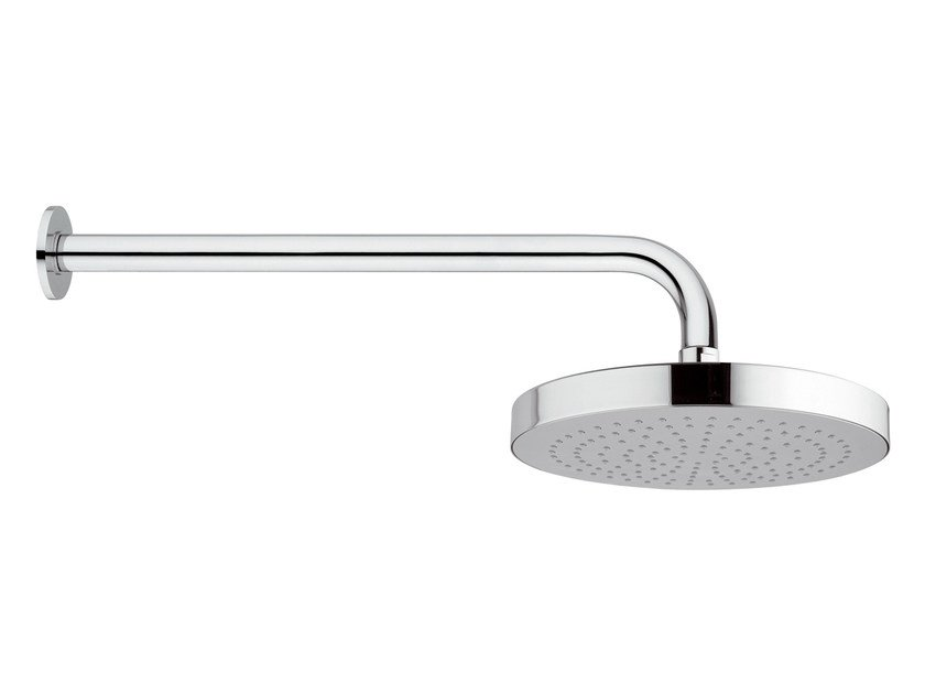 Wall-mounted chrome-plated brass overhead shower with arm 15T-01 | Overhead shower by Rubinetterie Mariani