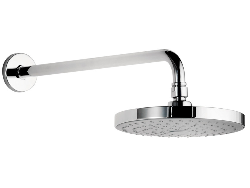 Wall-mounted brass overhead shower with arm 153-RO | Overhead shower by Rubinetterie Mariani