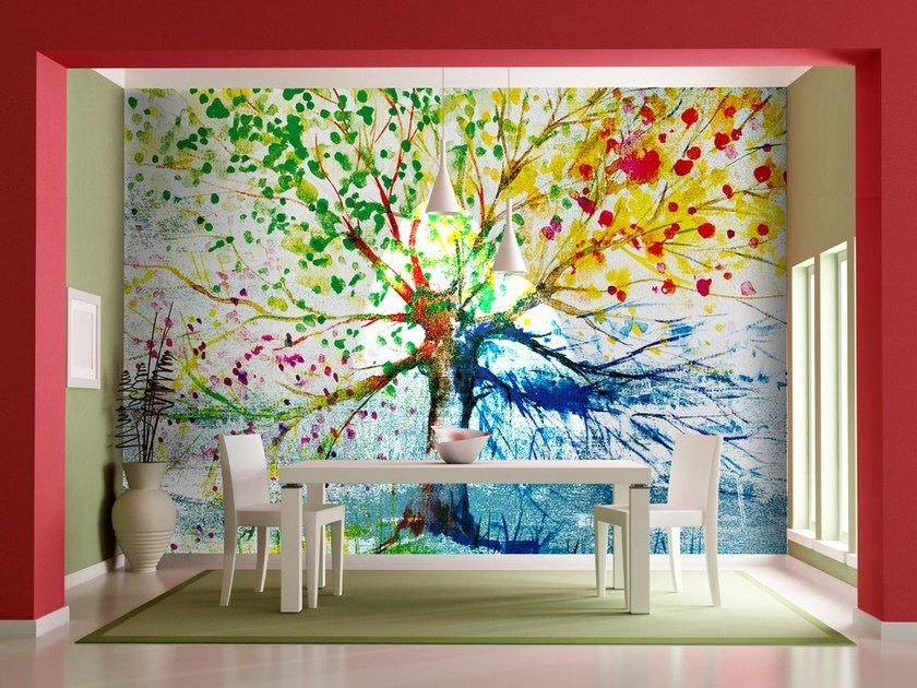 Nonwoven wallpaper ENERGIA by MyCollection.it
